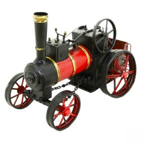 Traction Engine Metal Ornament