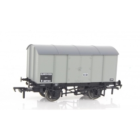 Rapido 902003 OO Gauge Gunpowder Van BR Grey No.B887001 (Diagram 1/260)