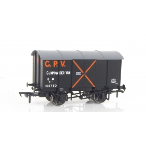 Rapido 902005 OO Gauge Gunpowder Van GWR No.105780 (Diagram Z4)
