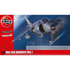 Airfix A04051A Bae Sea Harrier FRS1 1/72 Plastic Kit