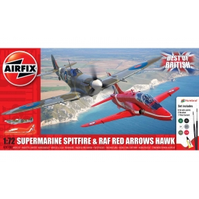 Airfix A50187 Best of British Spitfire and Hurricane