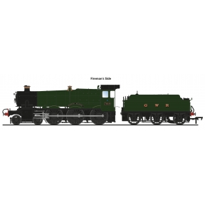 Accurascale ACC2508 OO Gauge GW Manor 7819 'Hinton Manor' GWR Green GWR