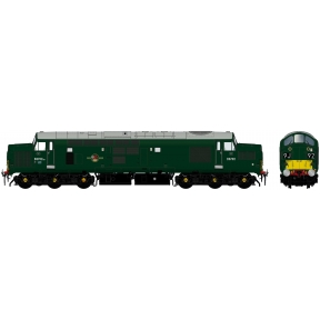 Class 37/0 D6702 BR Green Small Yellow Panels