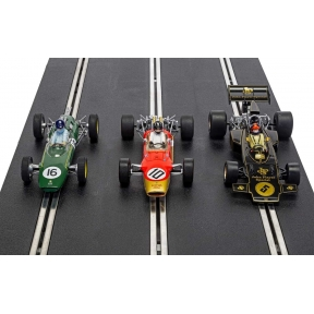 Scalextric C4184A The Genius Of Colin Chapman Lotus F1 Triple Pack