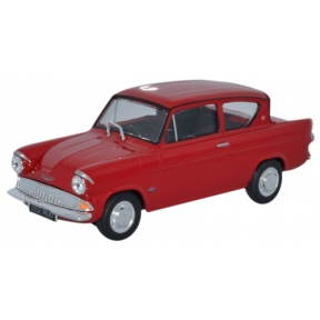 Ford Anglia 105E Saloon - Monaco Red