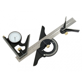 Combination Square with Angle Finder 12''/300mm