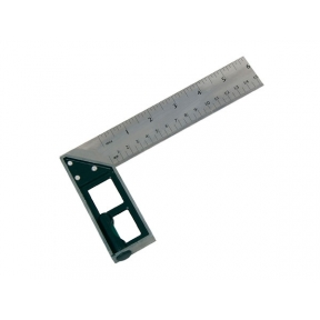 150mm Try Square with Spirit Level