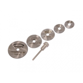 6 piece HSS Saw Disc Set