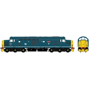 Accurascale Class 37/0 37027 Loch Eil BR Blue With White Bodyside Stripe With Car Style Headlight