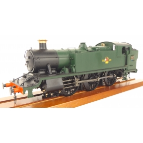 Heljan GWR 61xx Large Prairie Tank 6111 BR Unlined Green Late Crest