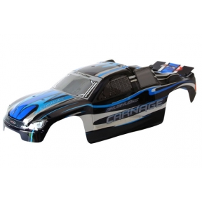 Carnage ST Printed Body - Black (Brushless)
