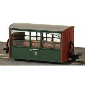 Peco GR-561 OO-9 Ffestiniog Bug Box Observation Coach No.1 Green & Red