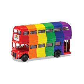 Corgi GS82337 London Bus Rainbow