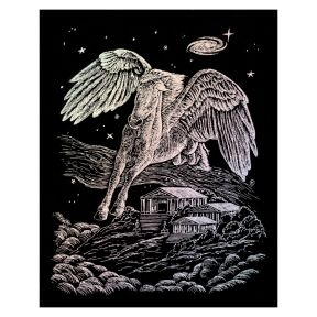 Pegasus Engraving Art