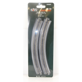 Kato N Gauge Unitrack (R282-45) Curved Track 45 Degree (Pack Of 4)