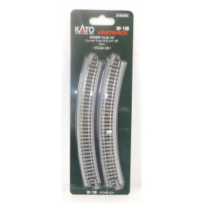 Kato N Gauge Unitrack (R348-30) Curved Track 30 Degree (Pack Of 4)
