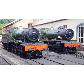 Dapol 4S-001-004 GW Manor 4-6-0 7823 Hook Norton Manor BR Lined Black Early Crest