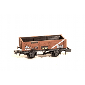 Peco NR-P1024 5 Plank China Clay Wagon BR Bauxite