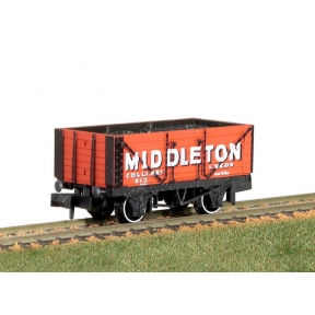 Peco NR-P423 7 Plank Wagon Middleton Colliery Leeds No 613