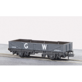 Peco NR-7W Tube Wagon GW dark grey