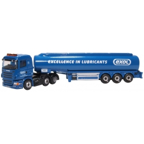 Oxford Diecast NSHL04TK Scania Highline Tanker Exol
