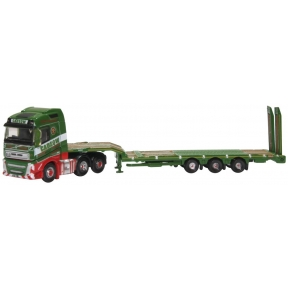 Oxford Diecast NVOL4007 Volvo FH4 Semi Low Loader Cadzow