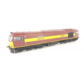 Hornby R2899XS OO Gauge Class 60 60042 'The Hundred of Hoo' EWS DCC Sound Fitted