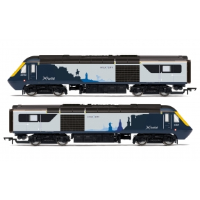 Hornby R3903 OO Gauge Class 43 HST Power Cars 43021 and 43132 ScotRail