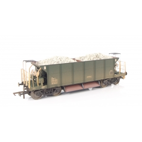 Hornby R6328C OO Gauge YGH Sealion Ballast Hopper Olive Green Weathered DB982639