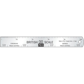 Peco SL-20 OO Gauge Scale Ruler
