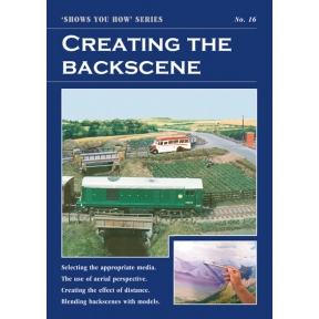 Peco Show You How Booklet No.16 - Creating the Backscene