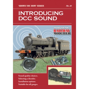 Peco Show You How Booklet No.25 - Introducing DCC Sound