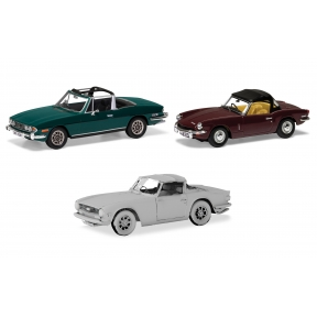 Corgi TC00004 Sporting Triumph collection Stag Spitfire TR6