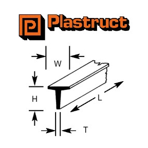 Plastruct T-Beam Section
