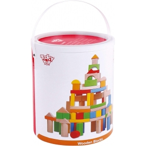 Tooky Toy TK9907 Wooden Blocks 100pcs