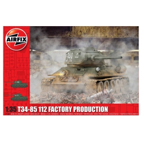 Airfix T34 85 II2 Factory Production