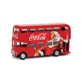 Corgi Coca Cola Christmas London Bus
