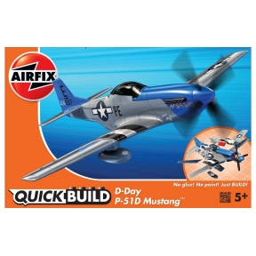Airfix Quick build - D-Day Mustang
