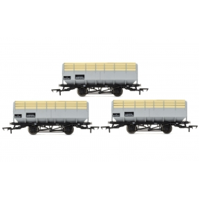 Hornby R6783 Pack Of Three 20 Ton Coke Hoppers BR Grey